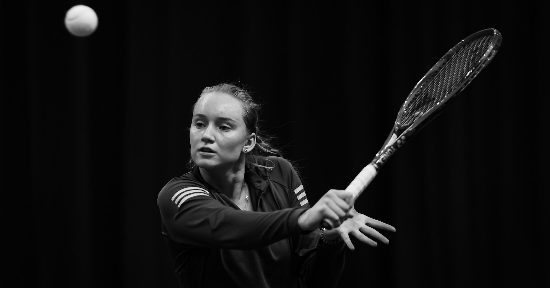 Elena Rybakina on the WTA Tour, 2020