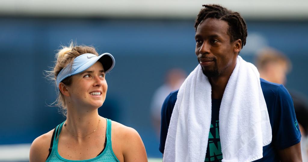 Elina Svitolina and Gaël Monfils, 2019 US Open
