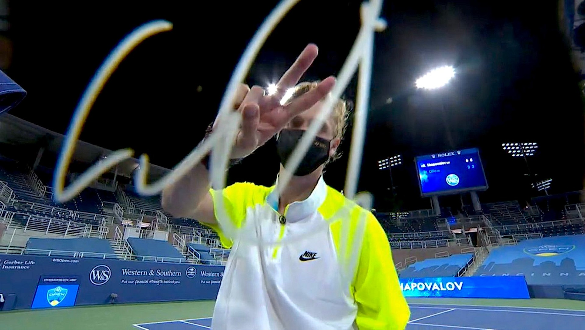 Denis Shapovalov, for Western and Souther Open 2020? New York, August 2020