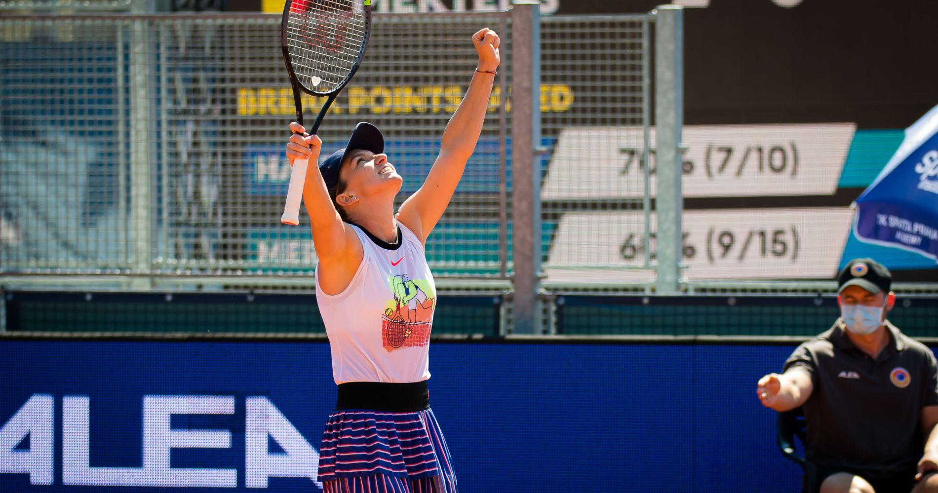 Simona Halep - Prague victory