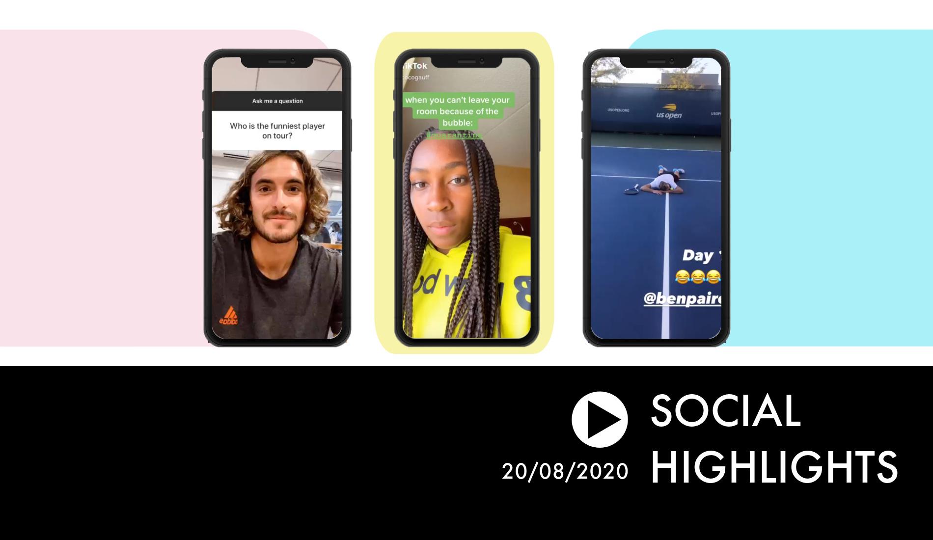 Social Highlights 20.08.2020