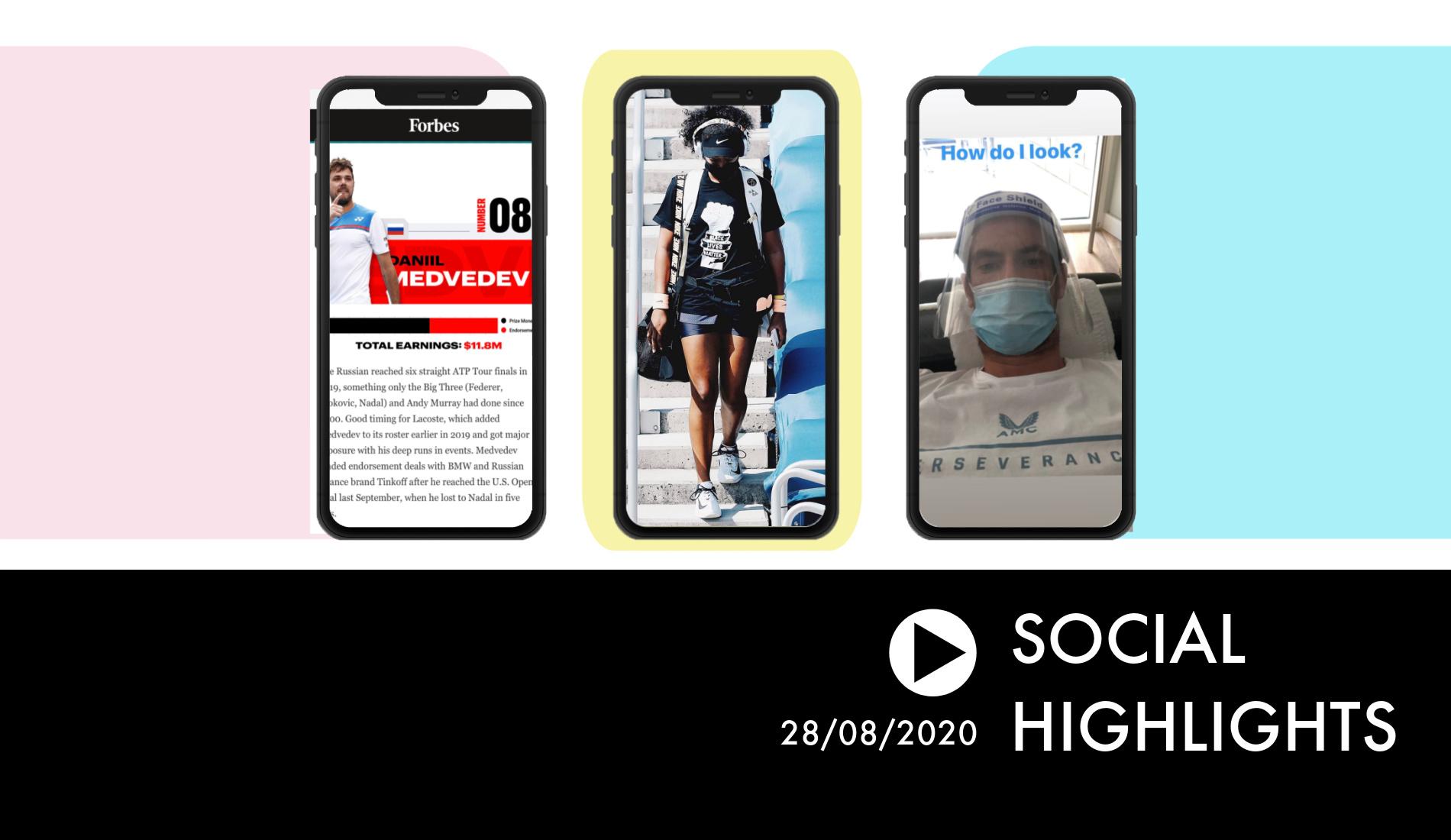 Social Highlights 28.08.2020