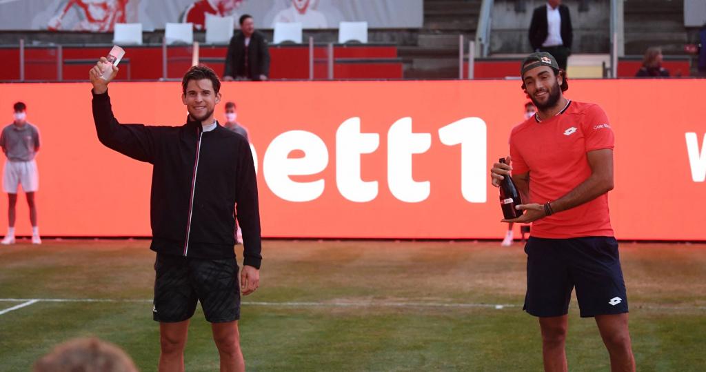 Dominic Thiem and Matteo Berrettini, Bett1 Aces 2020