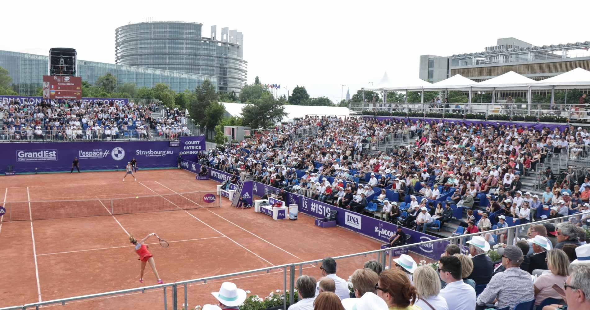 WTA Strasbourg, Illustration