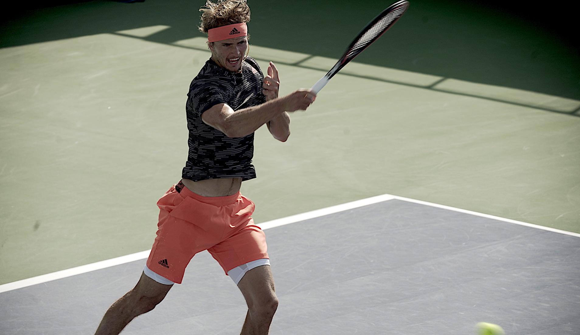 Alexander Zverev, UTS2 semi-final, July 2020