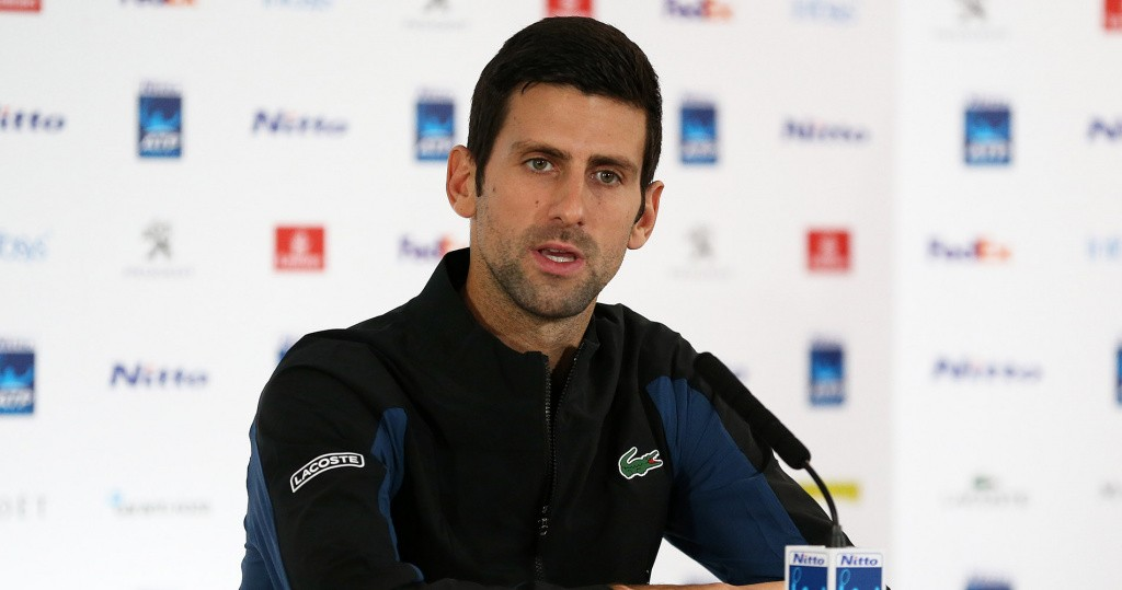 Novak Djokovic Nitto ATP Finals 2019 Press Conference