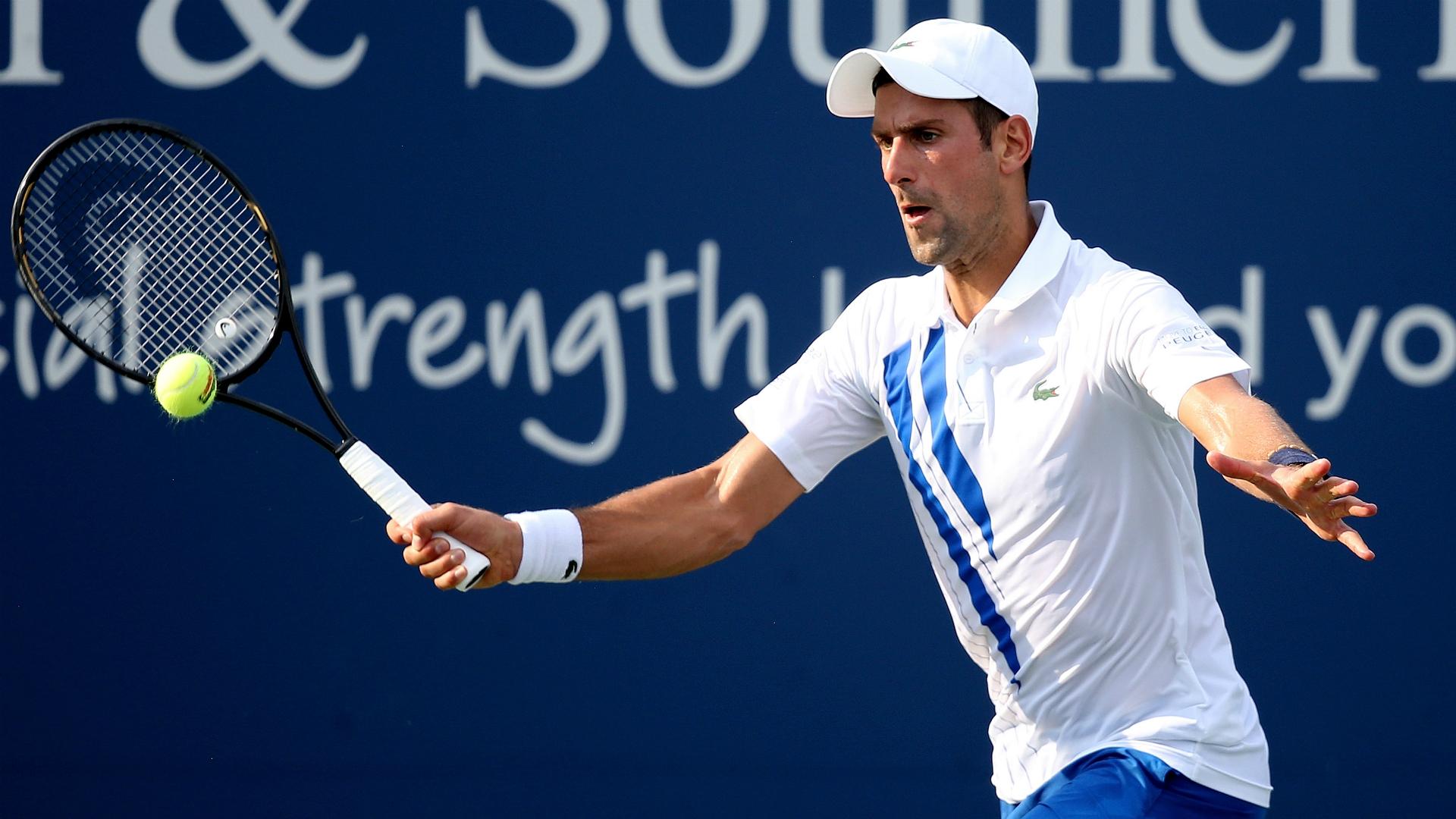 Novak Djokovic, Cincinnati 2020