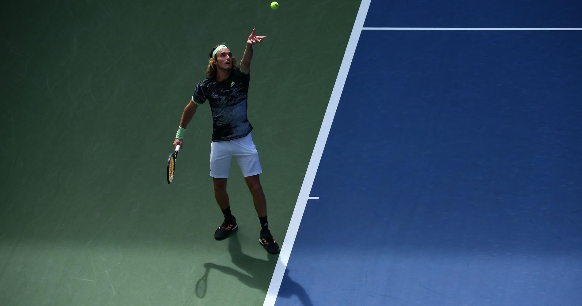 Stefanos Tsitsipas, US Open 2019