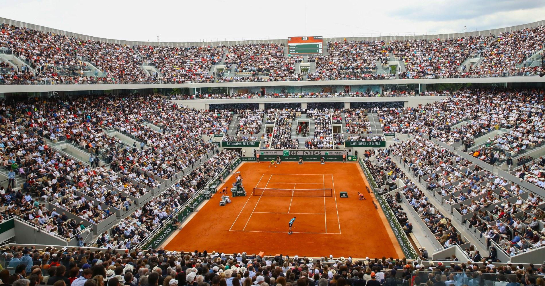 Court Philippe Chatrier Roland Garros
