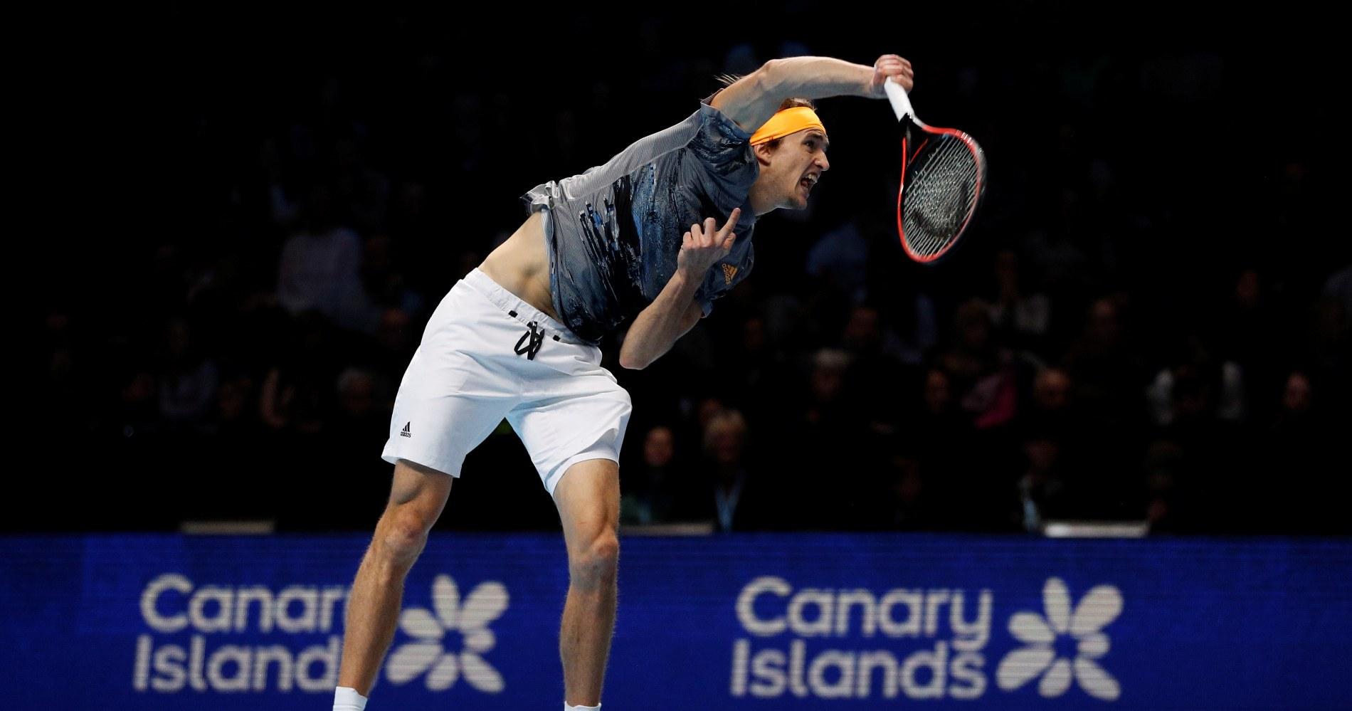 Alexander Zverev, Nitto ATP Finals 2019