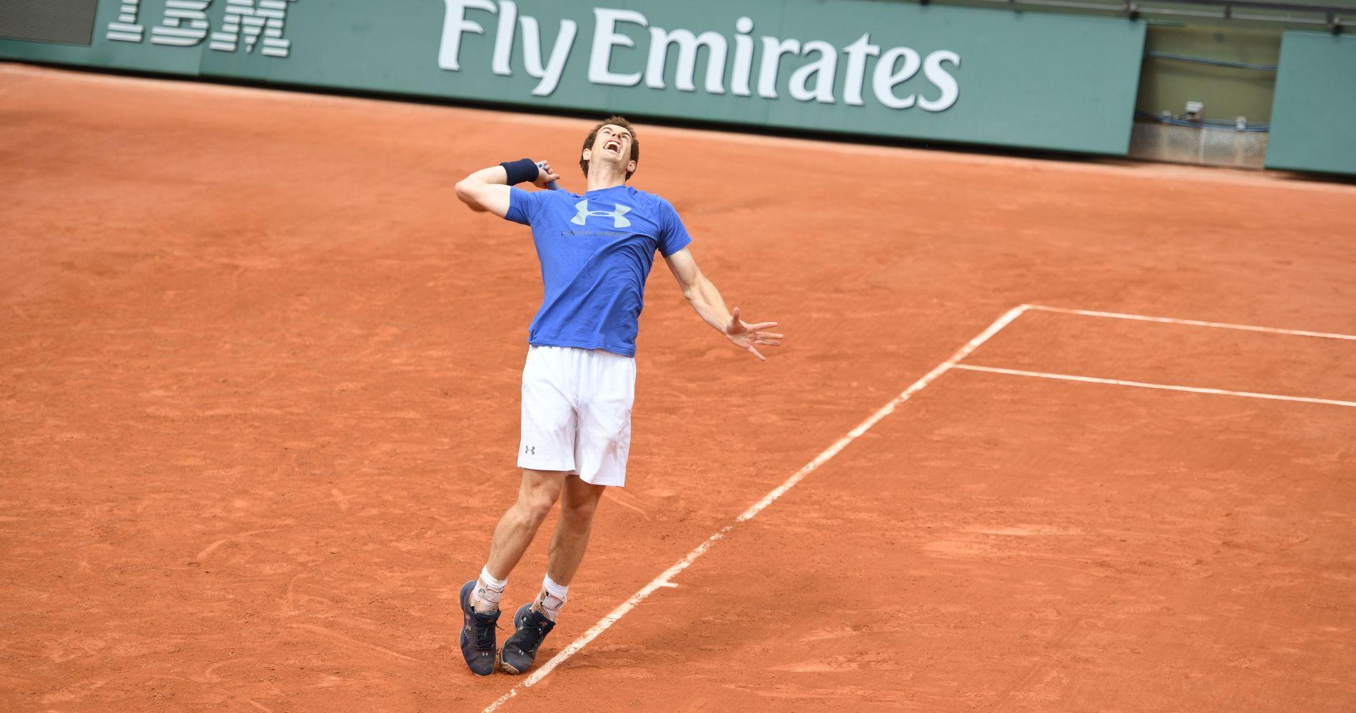 Andy Murray, Roland-Garros 2017