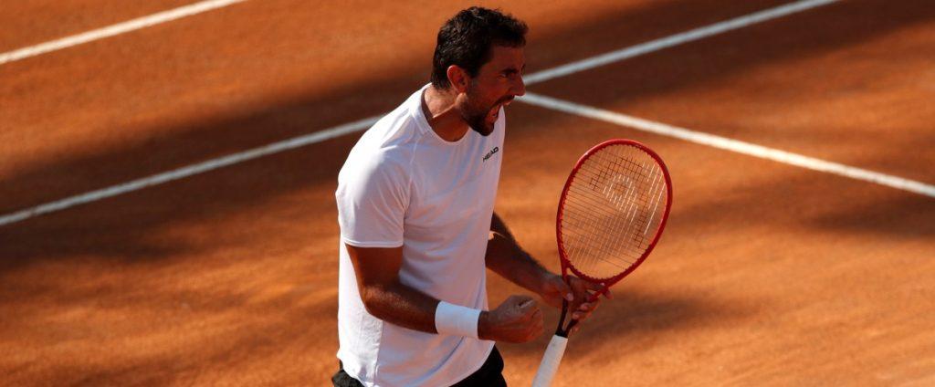ATP - Rome : Cilic s'offre Goffin, Berrettini assure