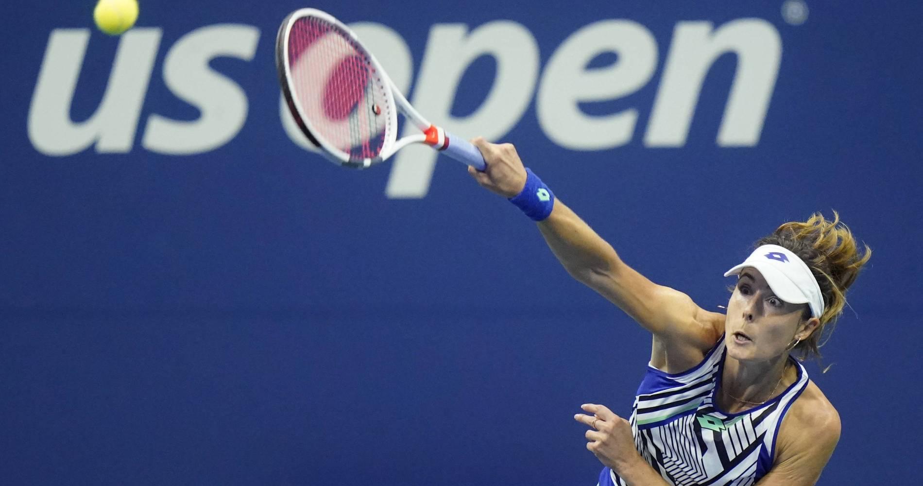 Alizé Cornet, US Open, sept. 2020