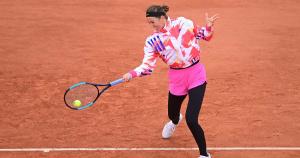 Azarenka at round 1 of Roland-Garros 2020