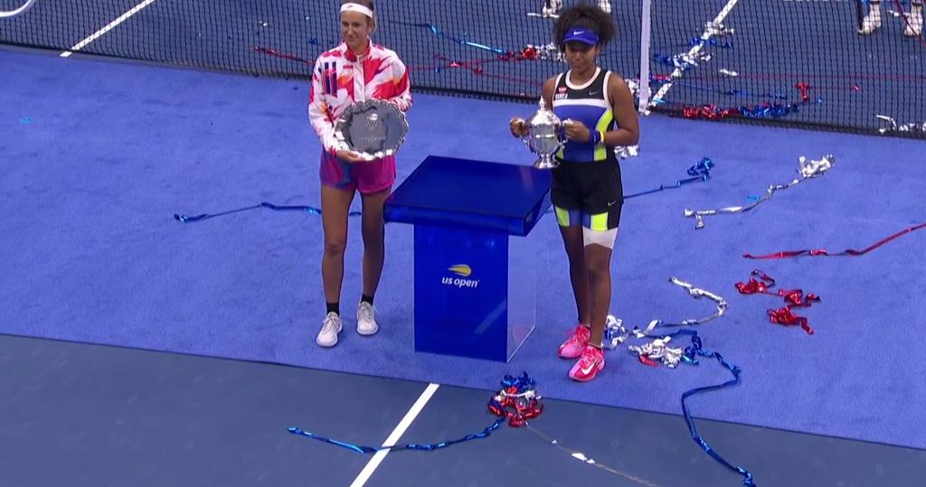 Victoria Azarenka and Naomi Osaka, US Open 2020 final