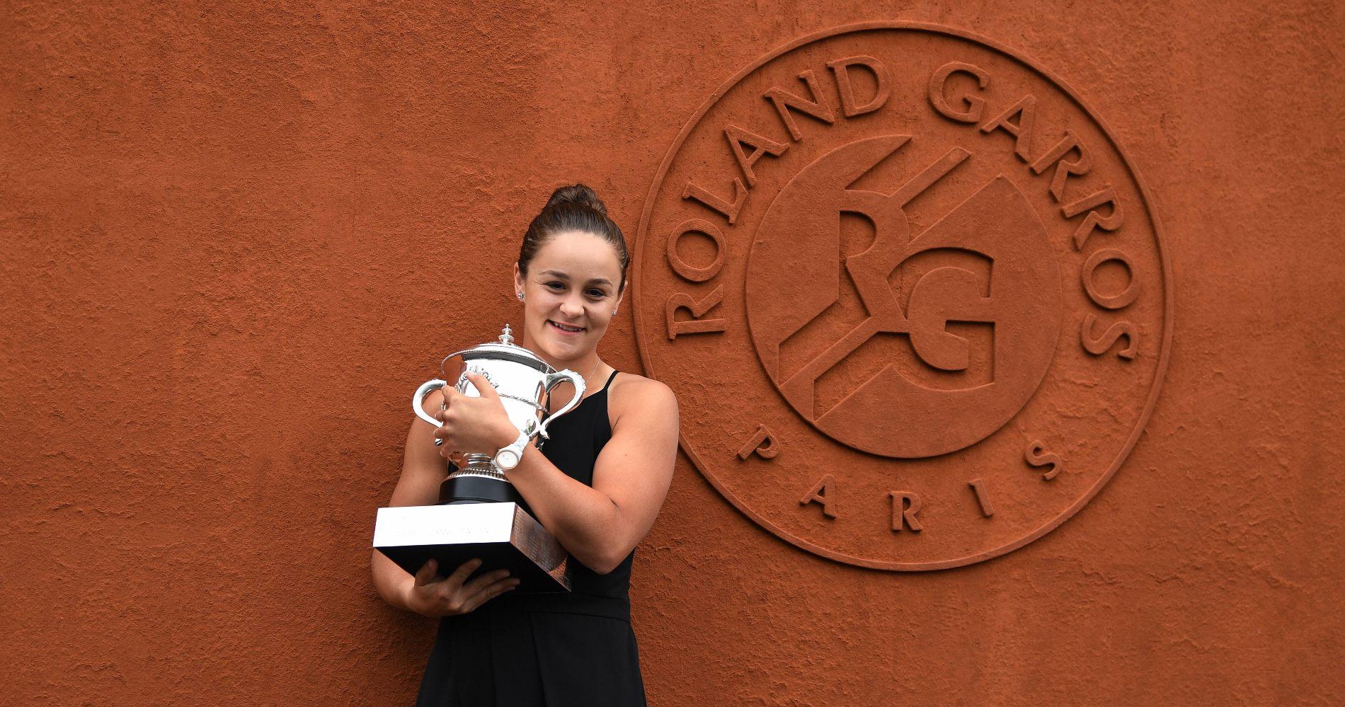 Ashleigh Barty, Roland-Garros 2019