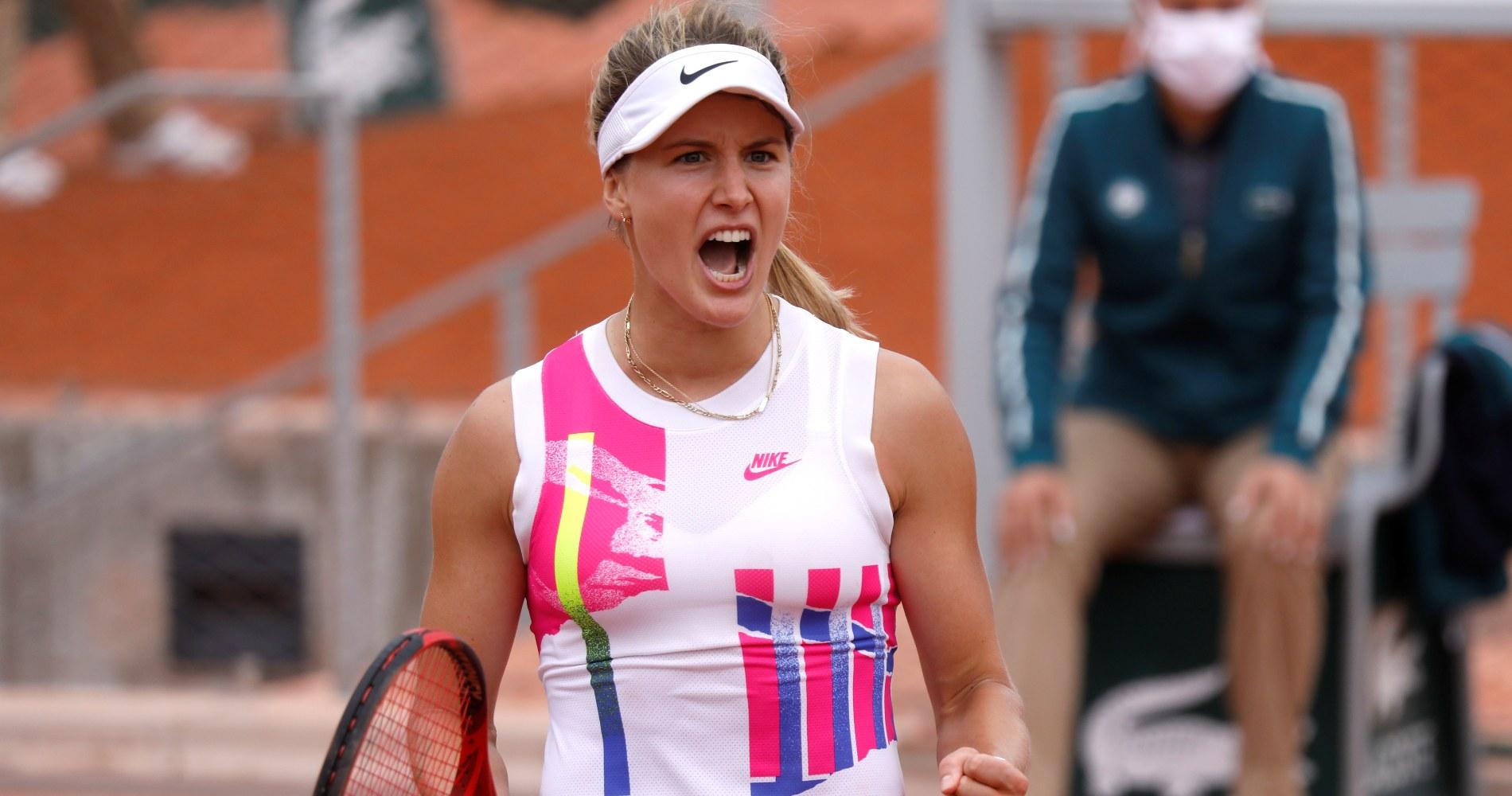 Bouchard Roland Garros 2020