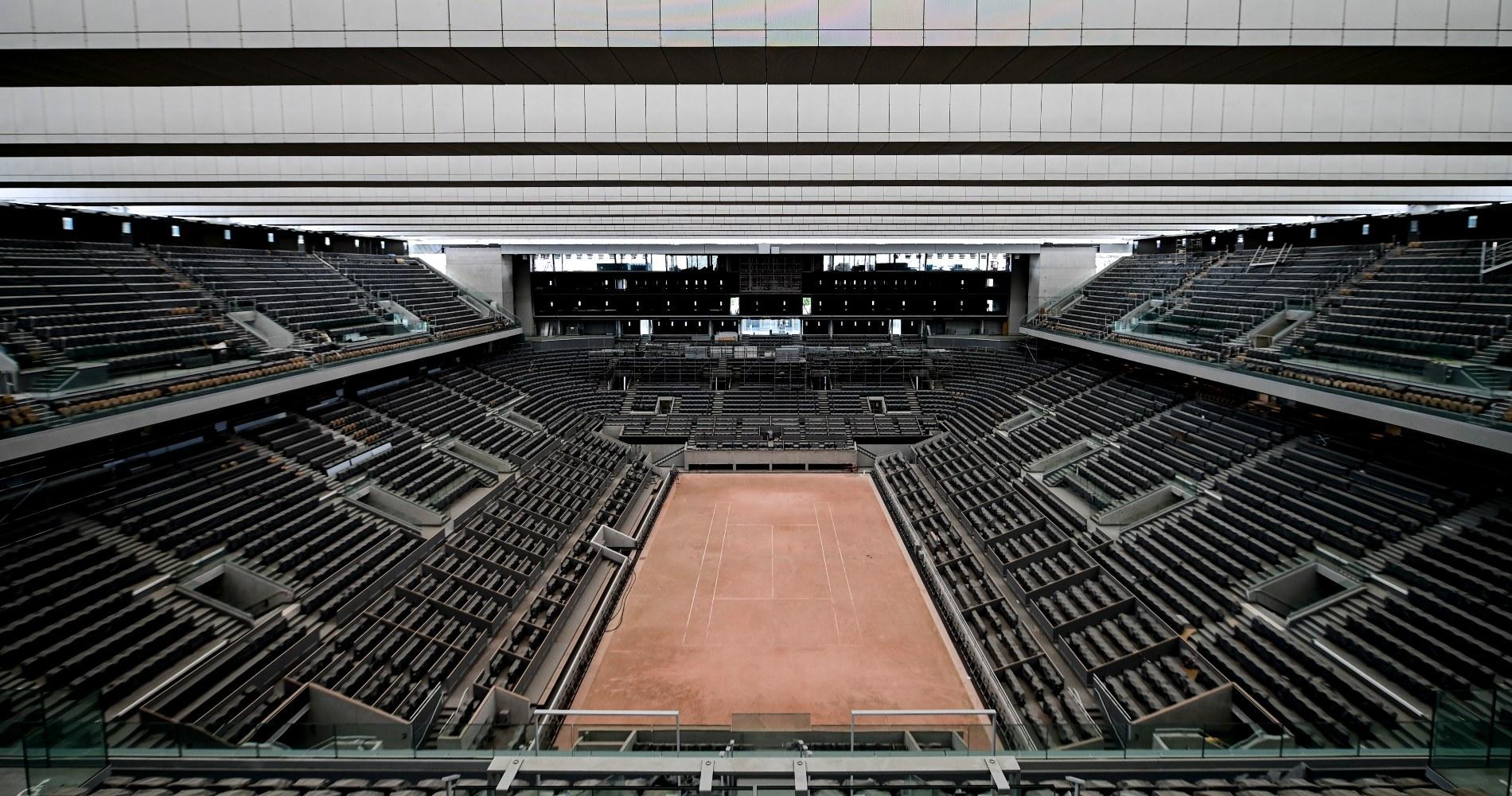 Court Philippe-Chatrier Roland-Garros 2020