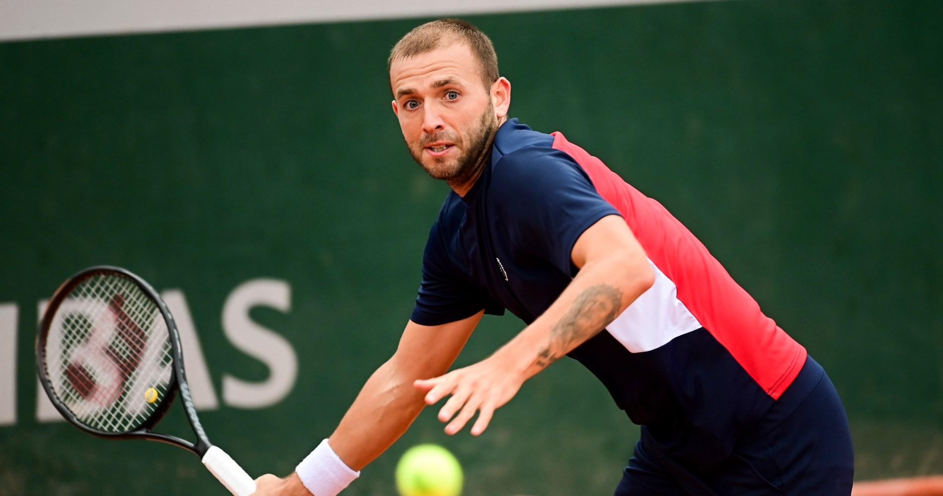 Daniel Evans, Roland-Garros, 2020