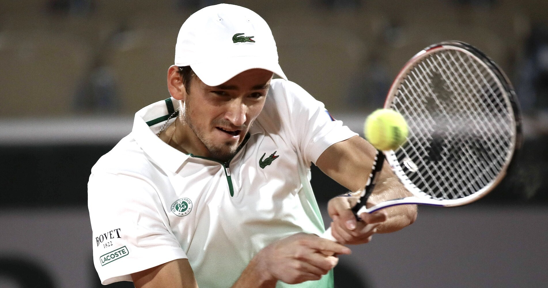 Daniil Medvedev, Roland-Garros, 2020