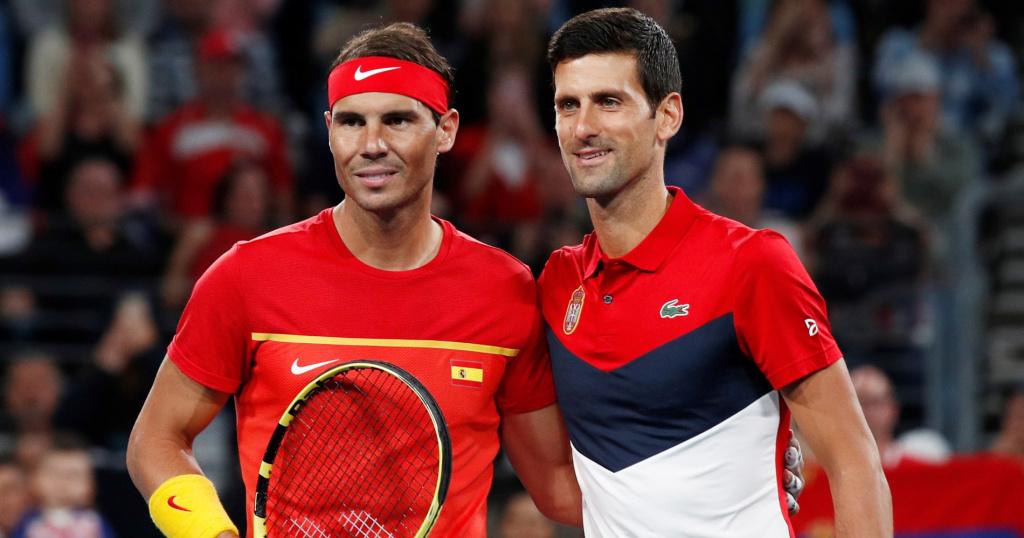 Djokovic ATP CUP 2020 NADAL