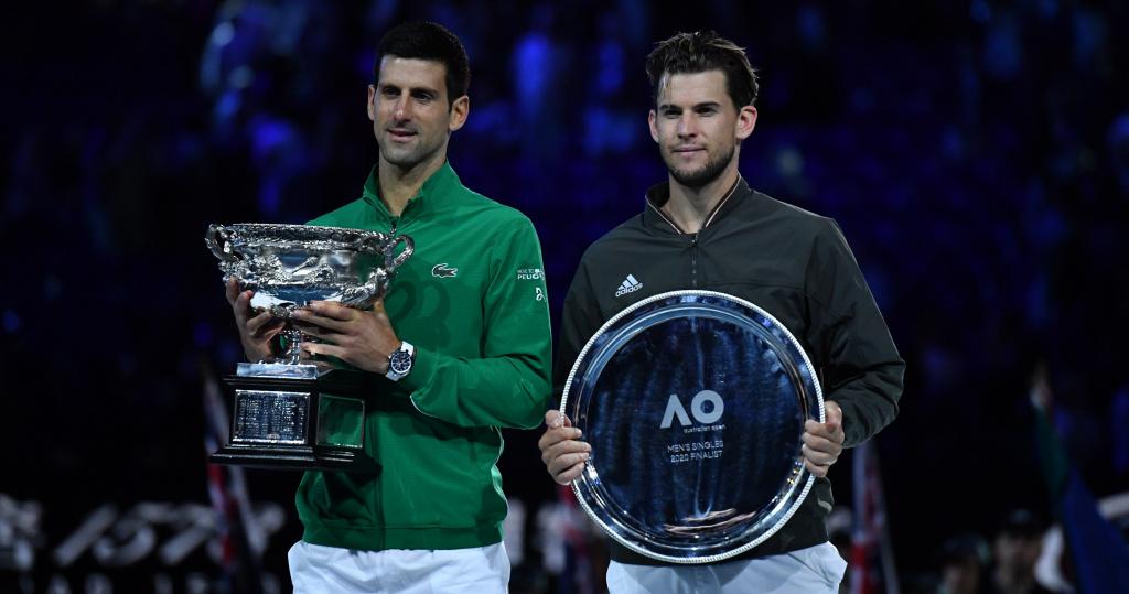Djokovic Australian Open 2020 Thiem