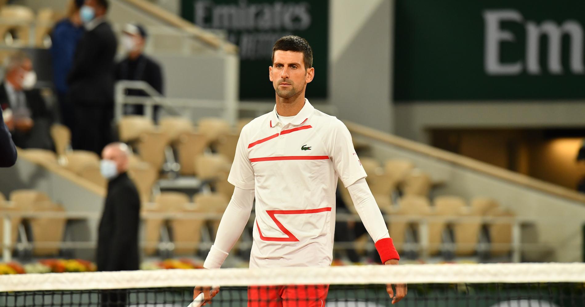 Tennis - Roland Garros 2020 - Novak Djokovic - Serbie - 29/09/2020
