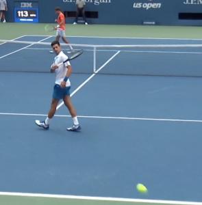 Novak Djokovic, US Open default