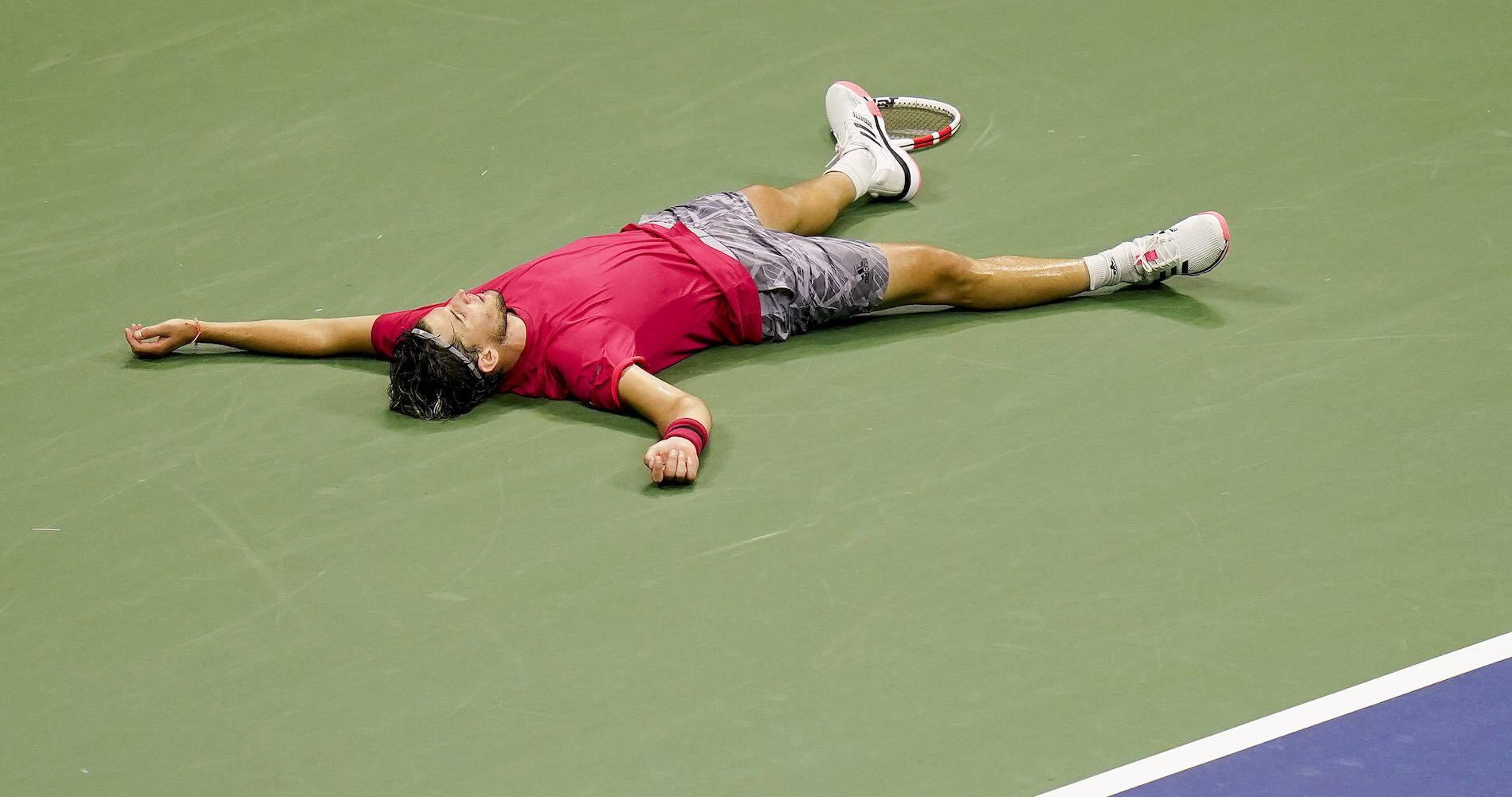Dominic Thiem US Open reaction