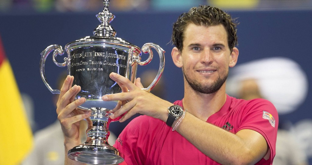 Dominic Thiem, winner of the 2020 US Open, september 13th 2020