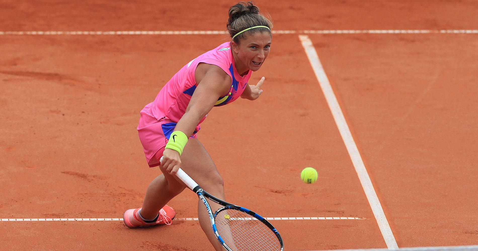Sara Errani at Prague Open 2020