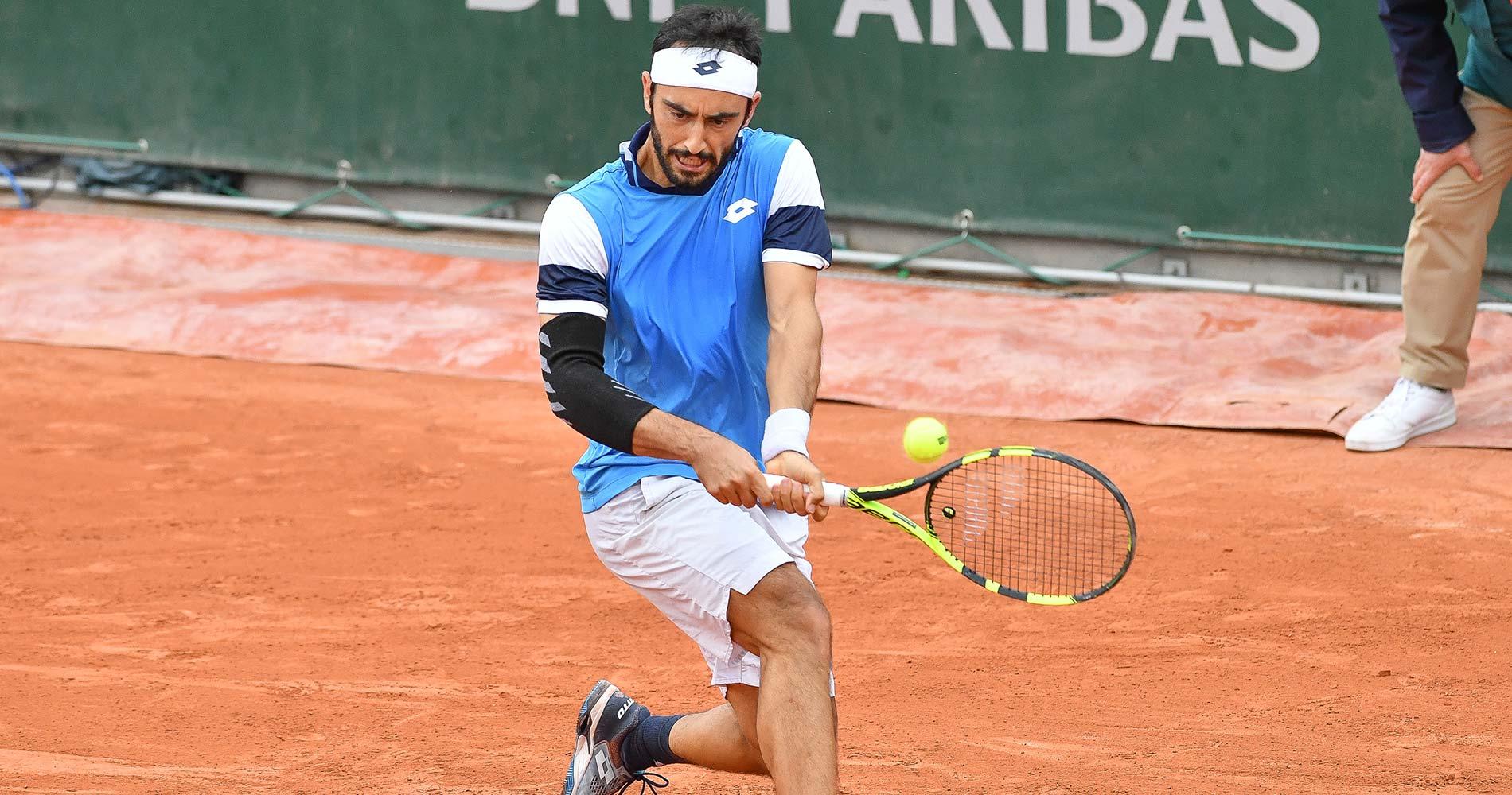 Giustino vs Moutet, Roland-Garros 2020