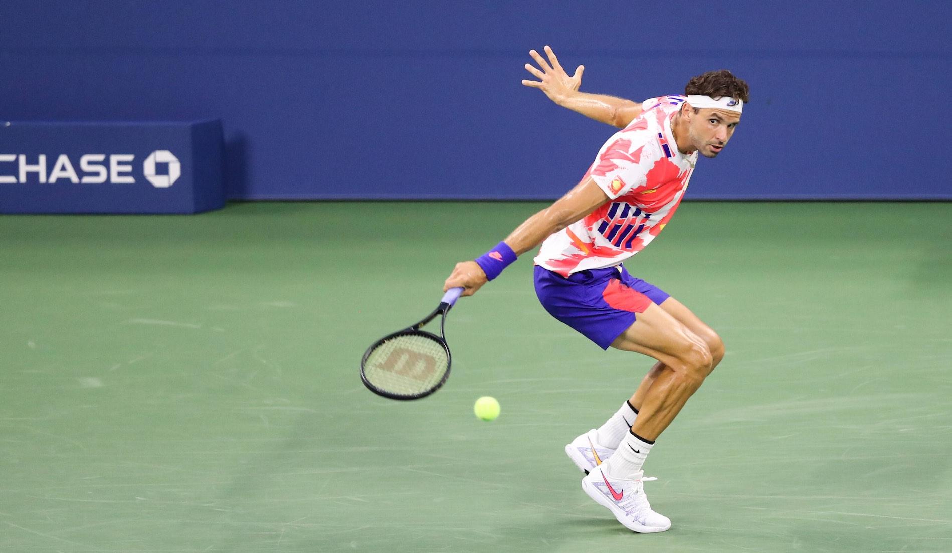 Grigor Dimitrov, US Open, 3 September 2020
