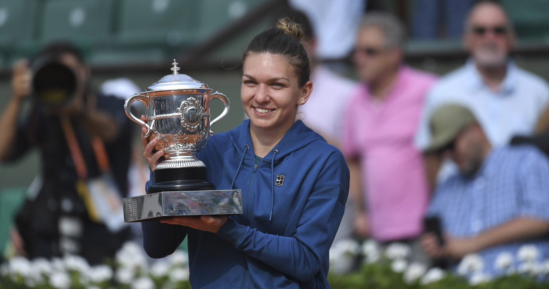 Halep at 2018 French Open