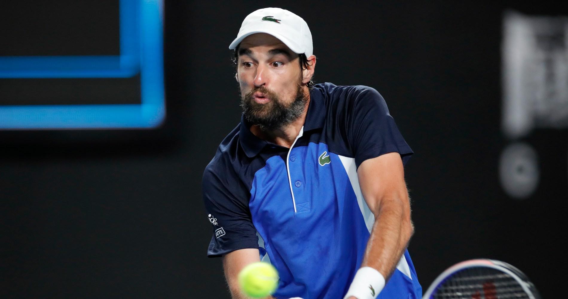 Jérémy Chardy, Australian Open 2020