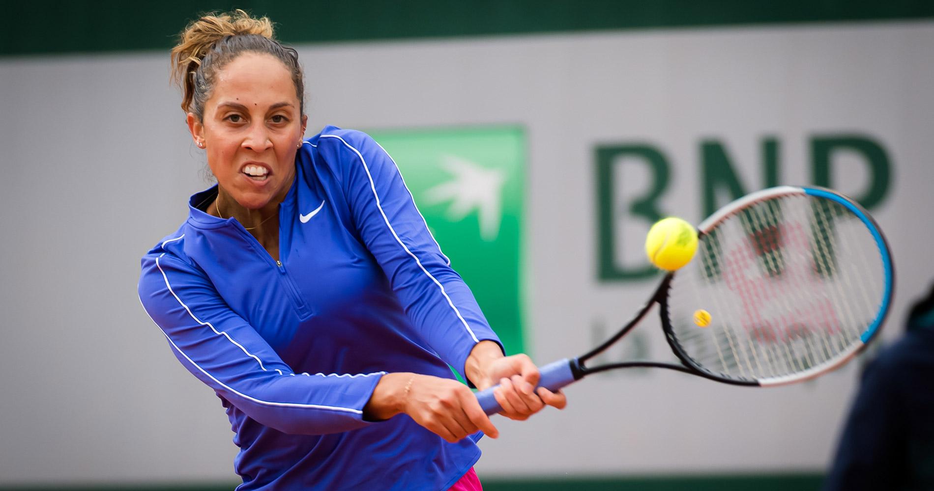 Madison Keys at Roland-Garros 2020