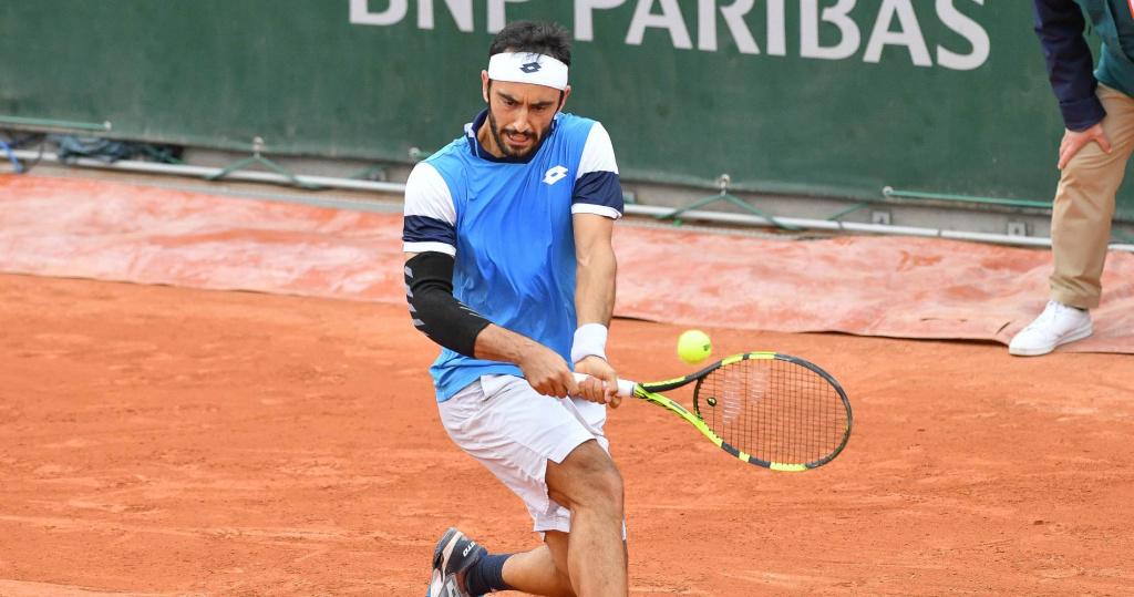 Lorenzo Giustino, Roland-Garros, 2020