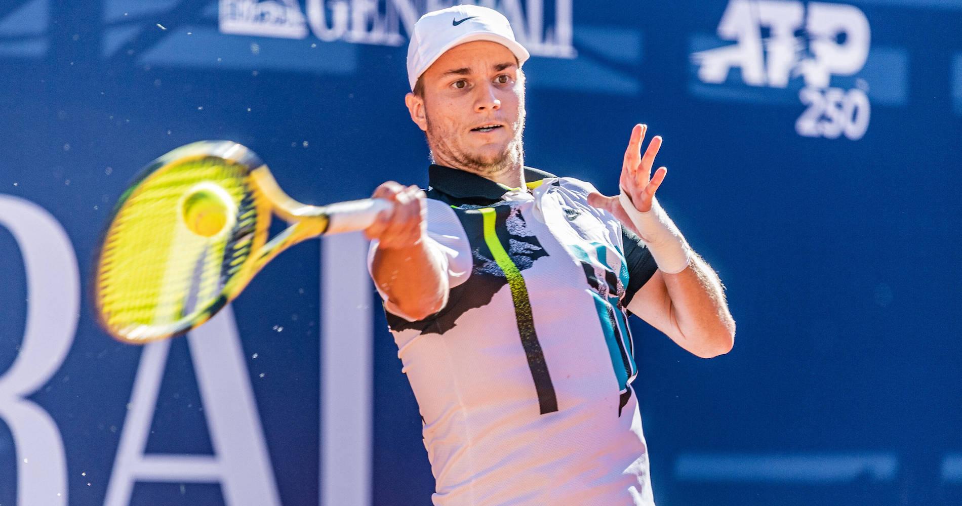 Miomir Kecmanovic, on the ATP Tour Kitzbuhel, 2020