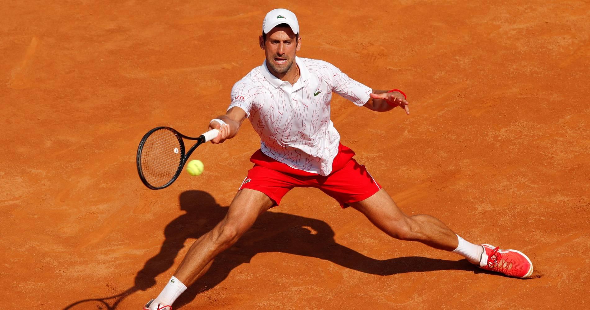 Novak Djokovic, Rome 2020