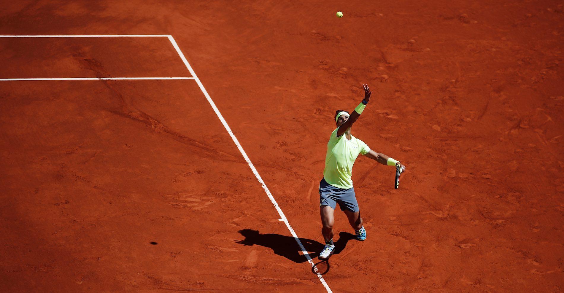 Rafael Nadal at Roland-Garros 2019
