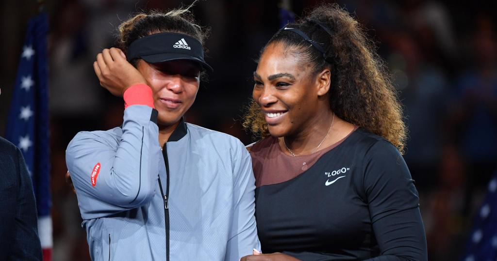Naomi Osaka and Serena Williams, US Open Final, 2018