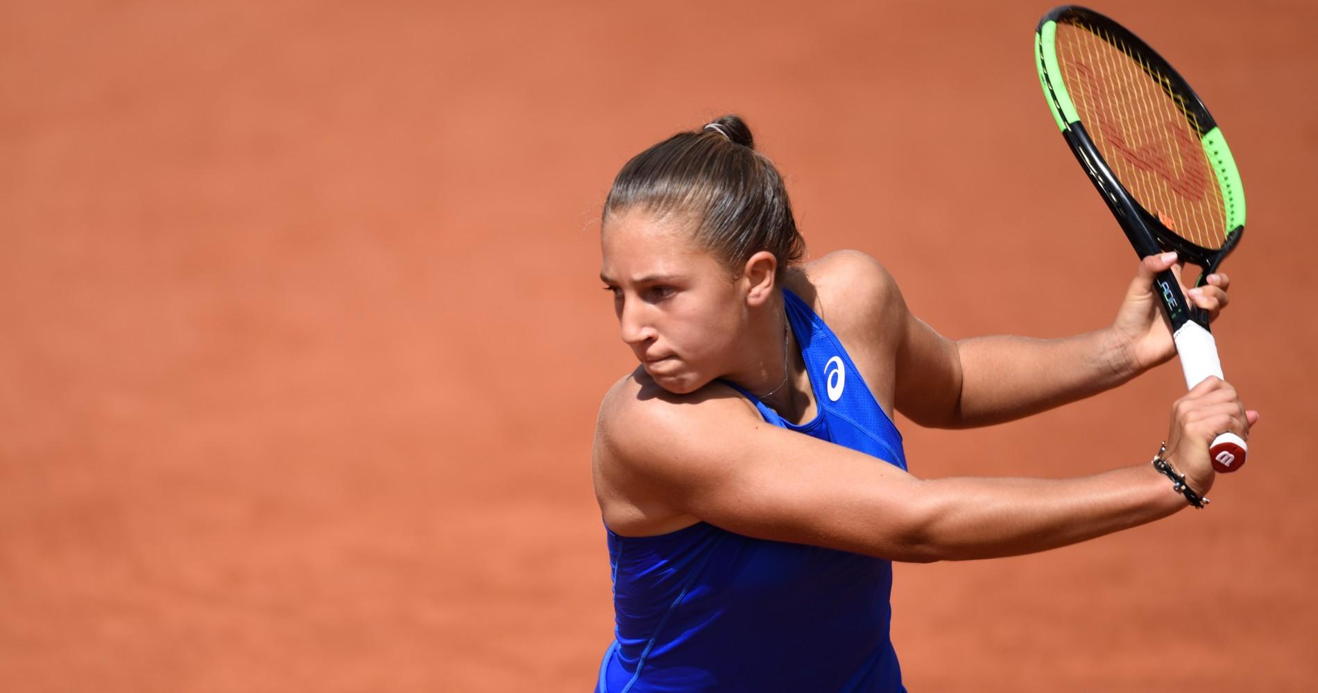 Diane Parry, Roland-Garros 2019
