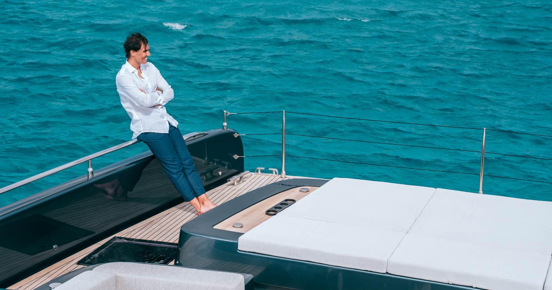 Rafael Nadal's 80 Sunreef Power Great White yacht