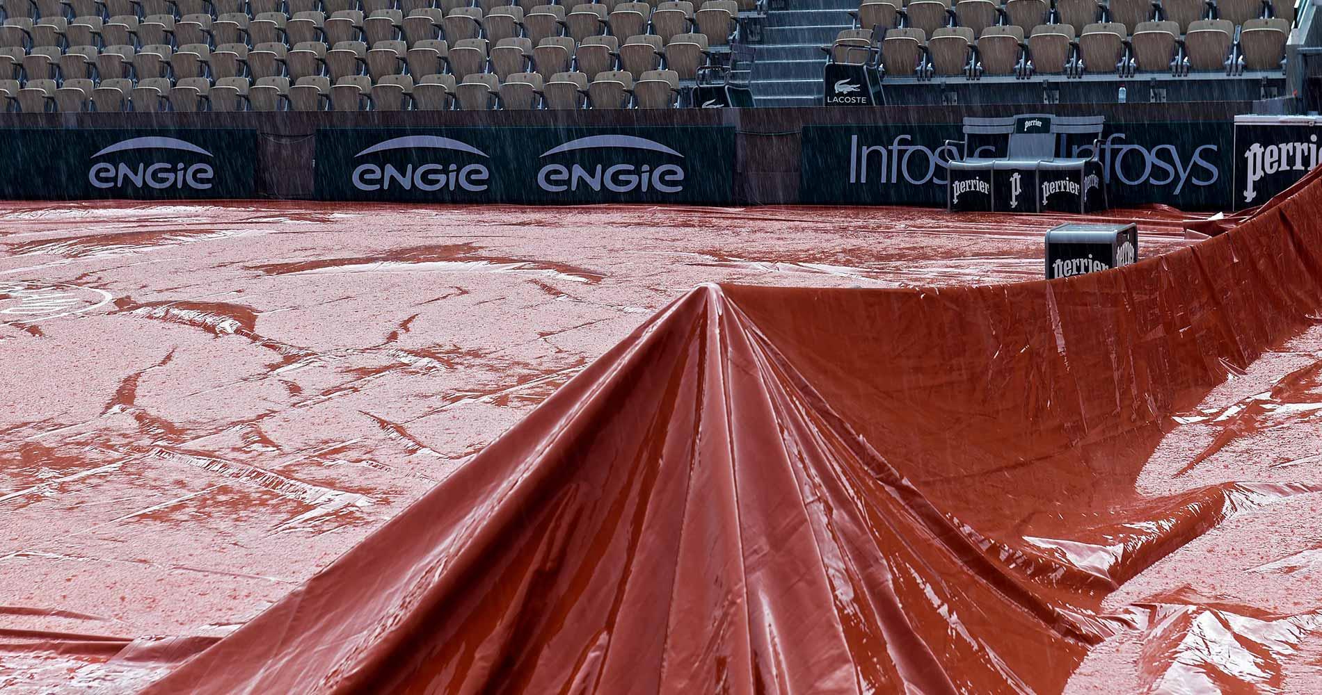 Roland-Garros 2020: rainy Lenglen