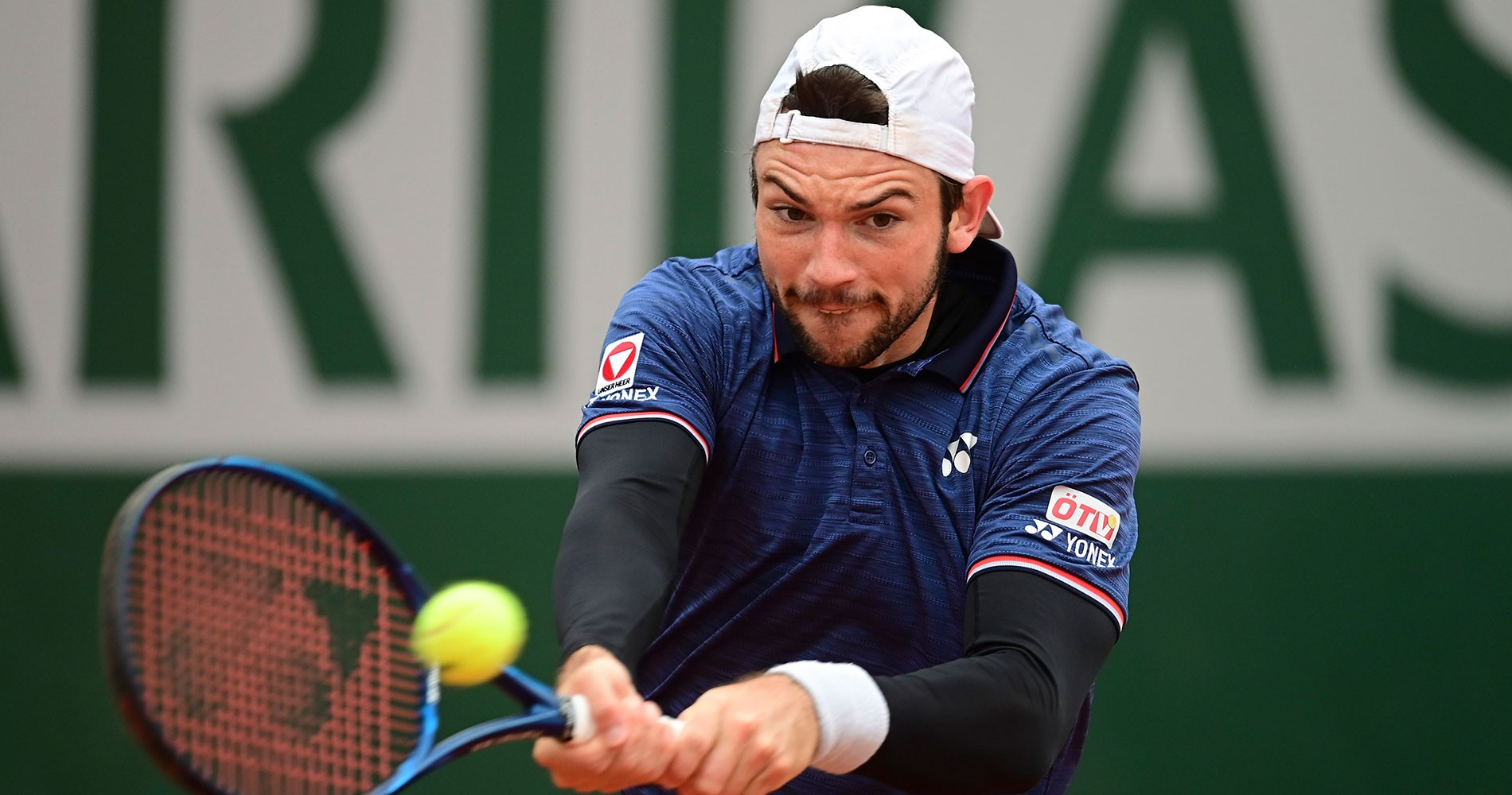 Rodionov d. Chardy in Roland-Garros 2020