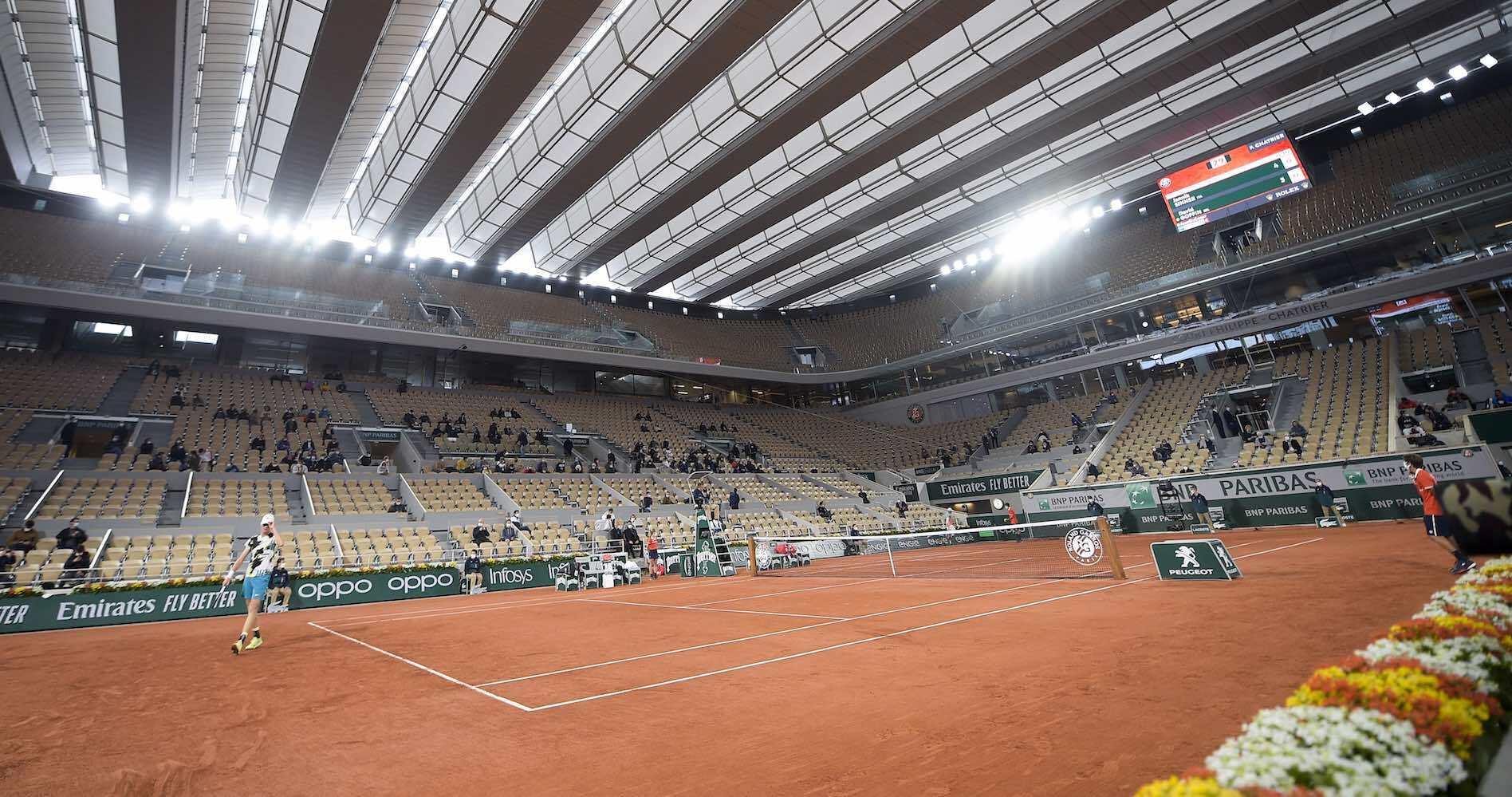 TENNIS : Internationaux de France Roland Garros 2020 - Paris - 27/09/2020