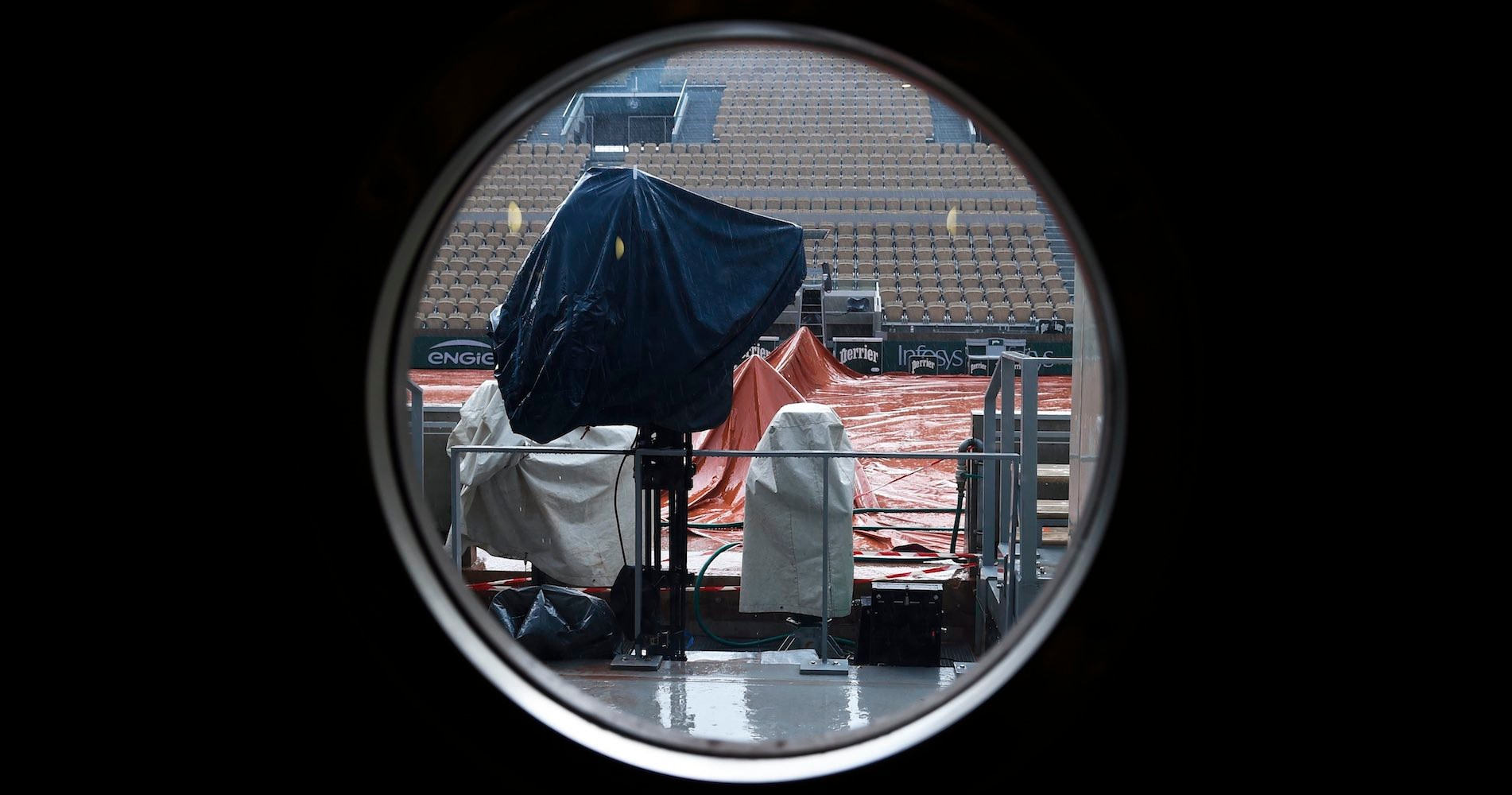 Roland-Garros, Suzanne-Lenglen court, 2020