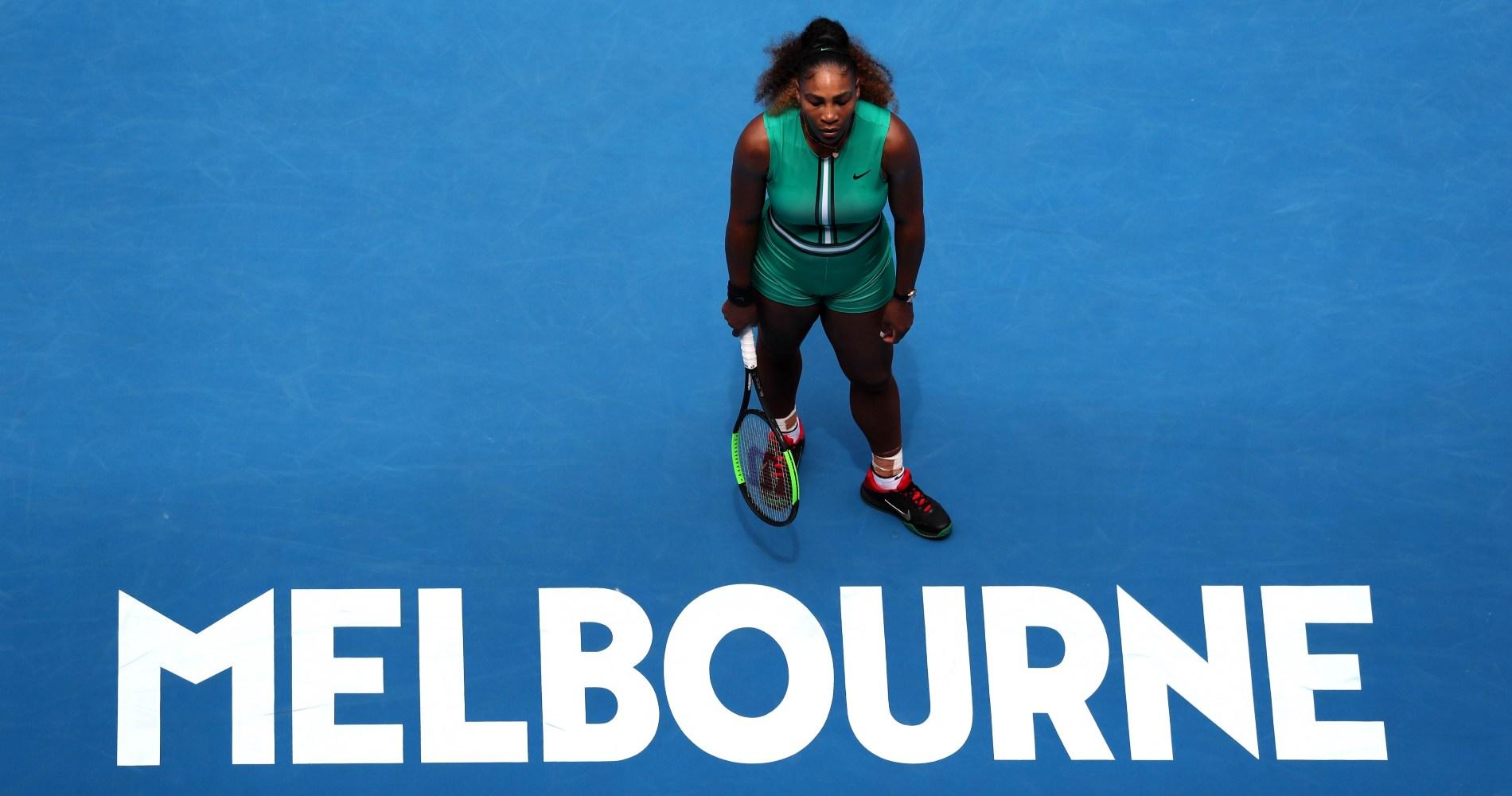 Serena Williams, Australian Open, 2019