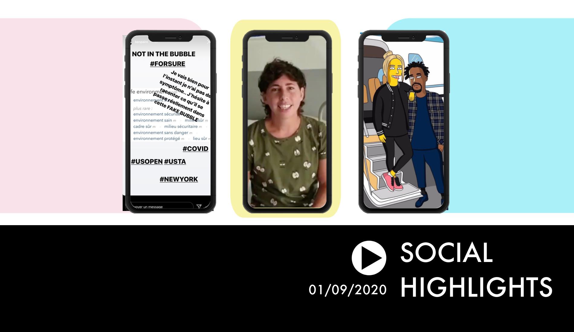 Social Highlights 01.09.2020