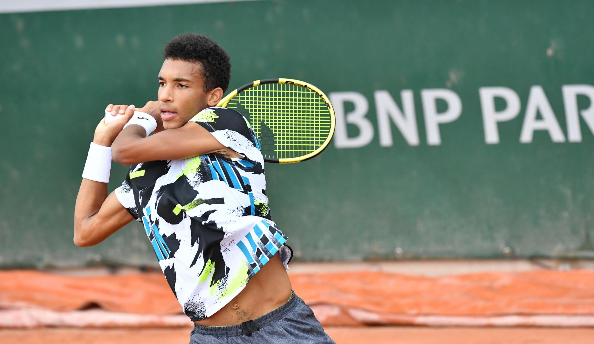 Félix Auger-Aliassime - Roland-Garros 2020